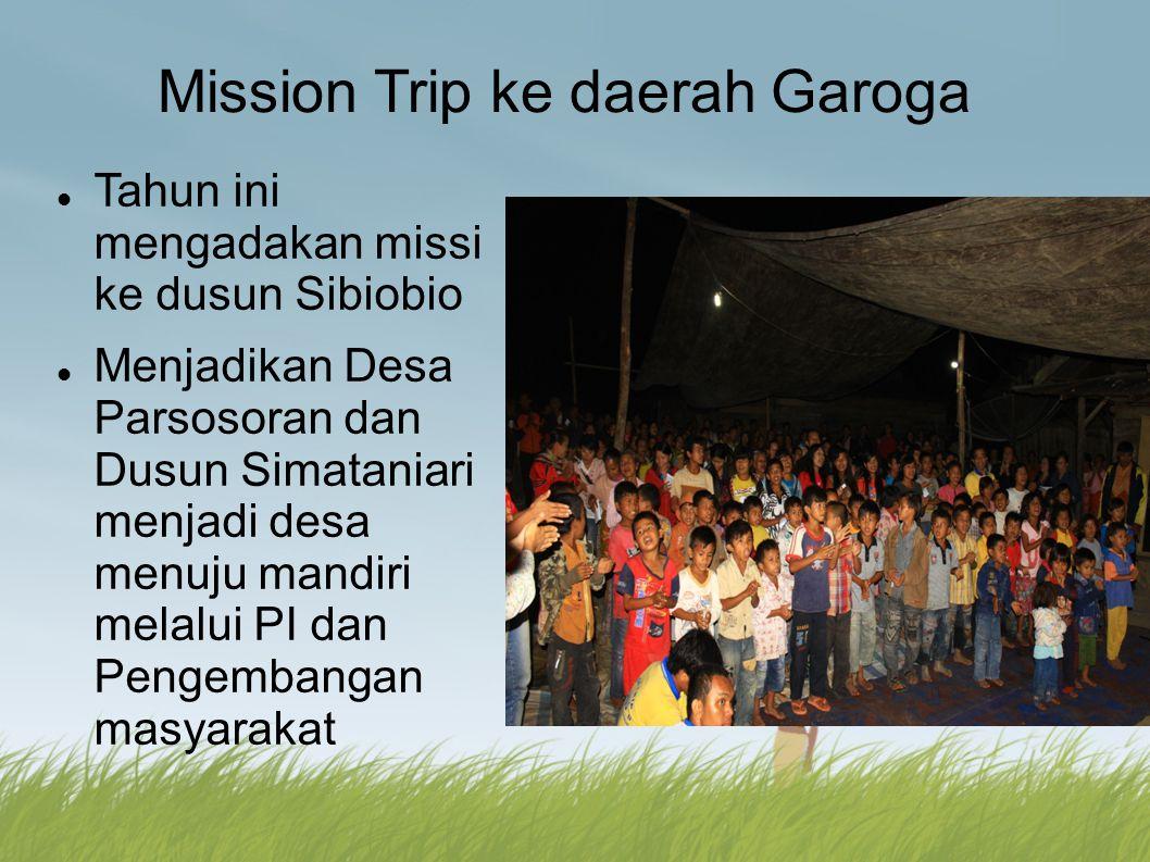 Mission Trip ke daerah Garoga