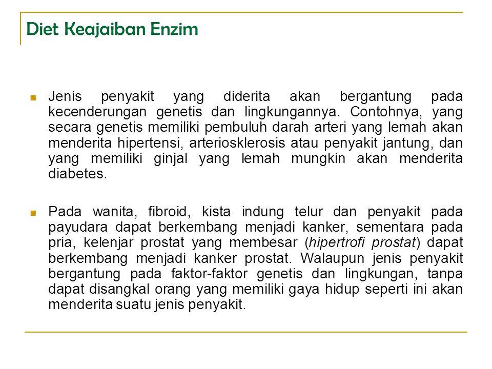 Diet Keajaiban Enzim