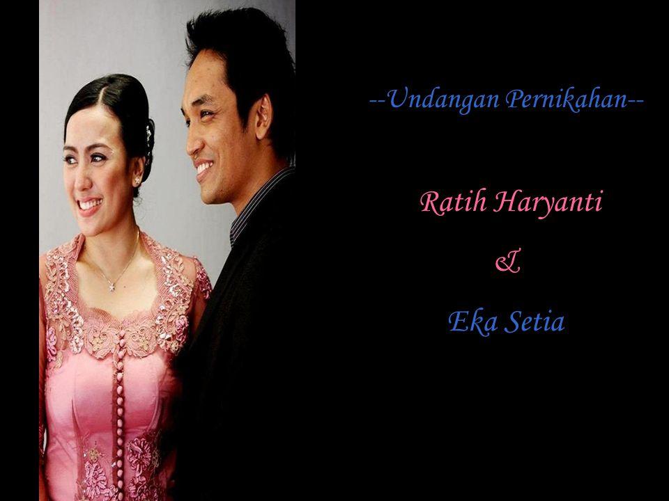 --Undangan Pernikahan--