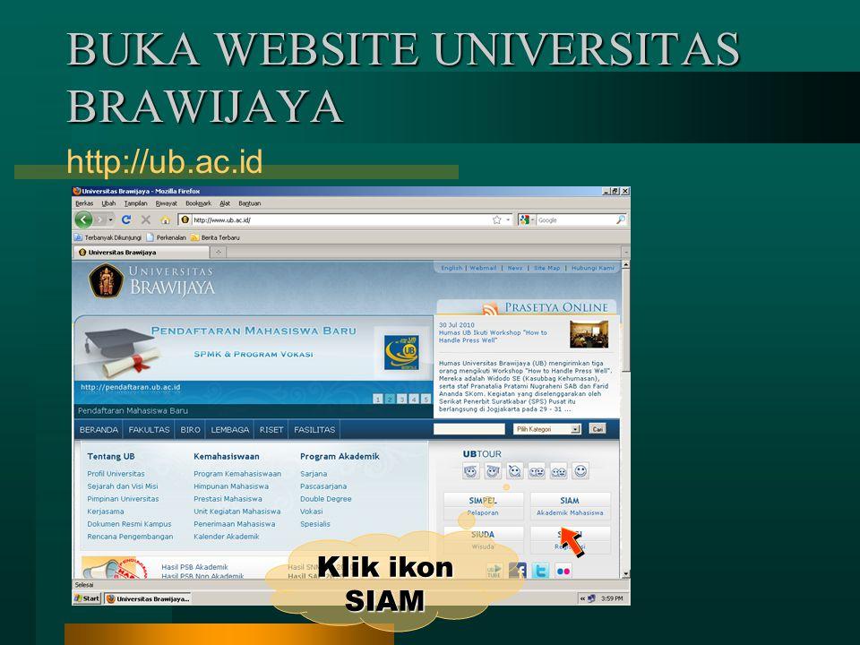 BUKA WEBSITE UNIVERSITAS BRAWIJAYA