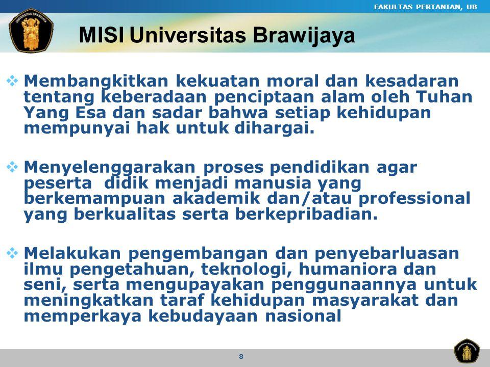 MISI Universitas Brawijaya