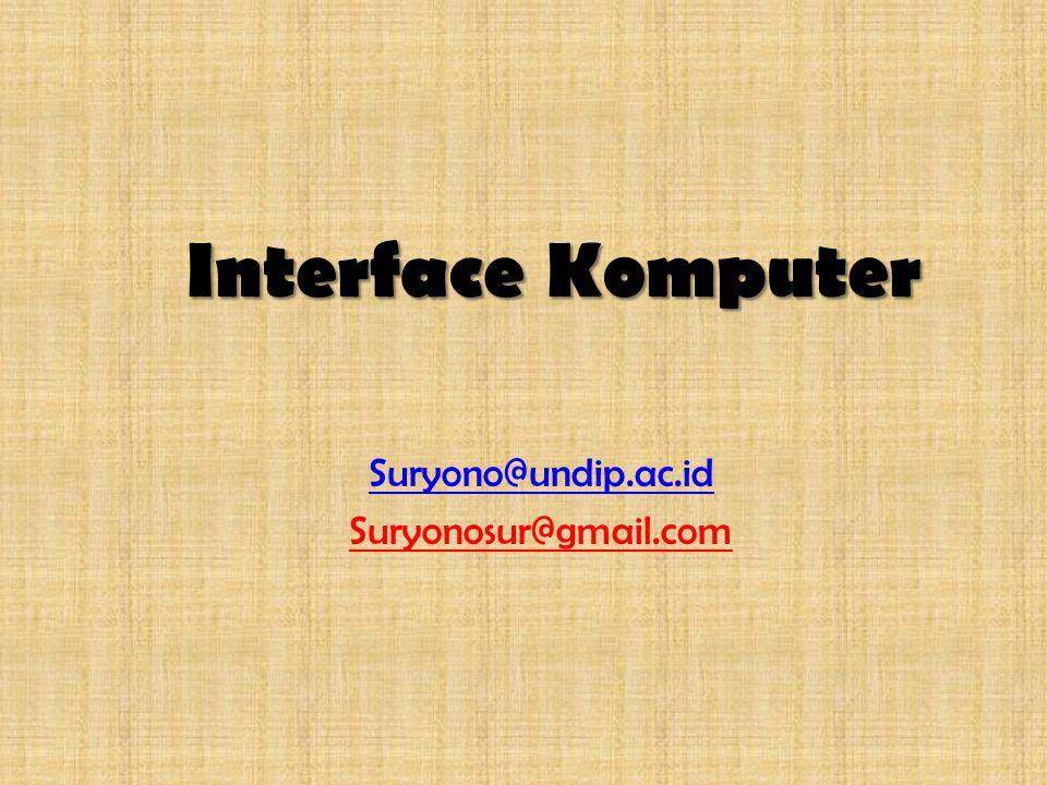 Suryono@undip.ac.id Suryonosur@gmail.com