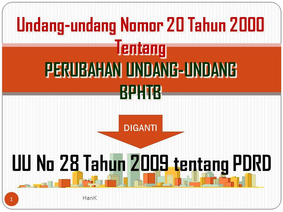 UU No 28 Tahun 2009 tentang PDRD