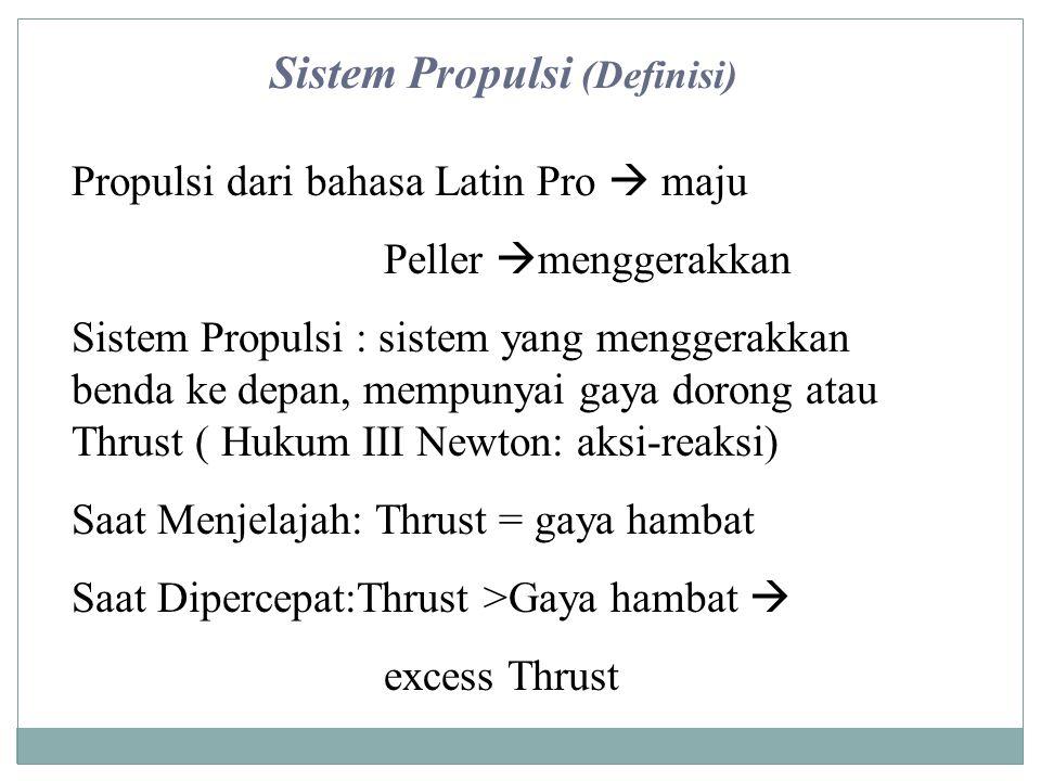 Sistem Propulsi (Definisi)