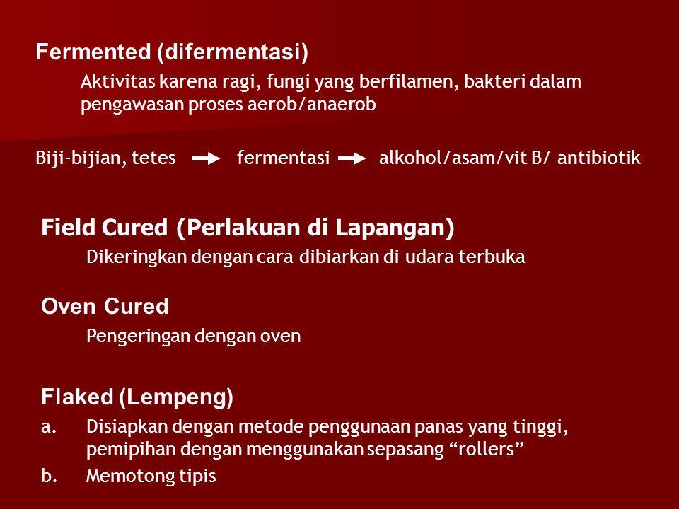 Fermented (difermentasi)