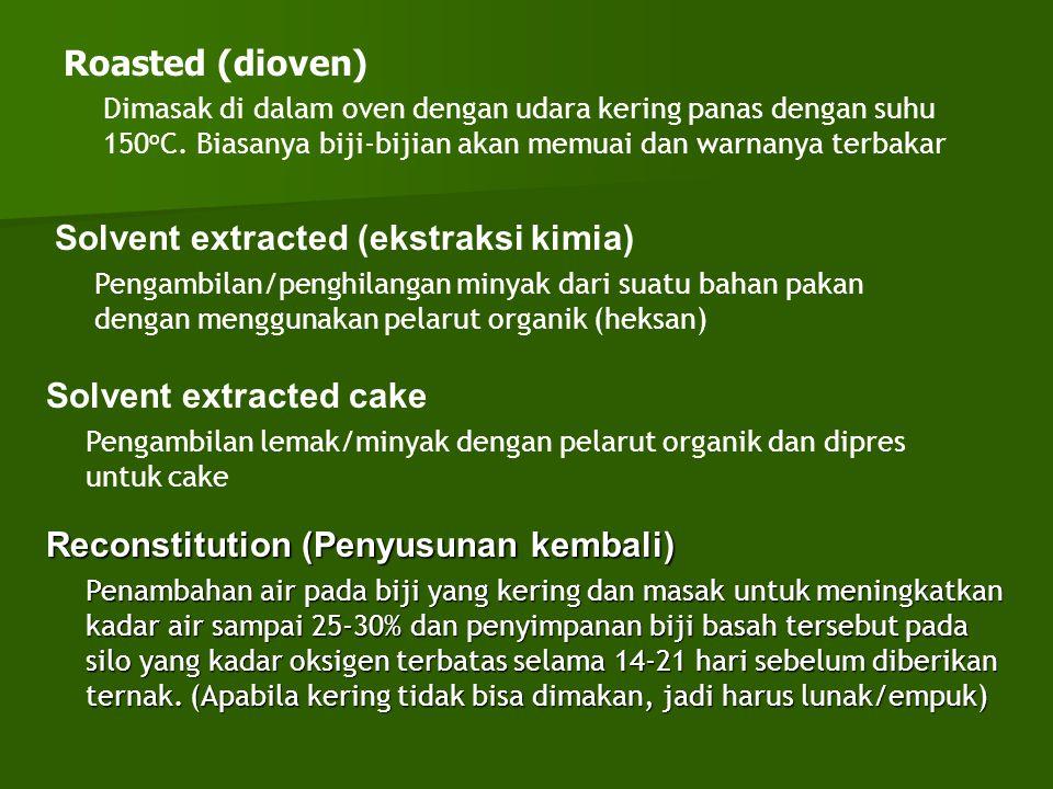 Solvent extracted (ekstraksi kimia)