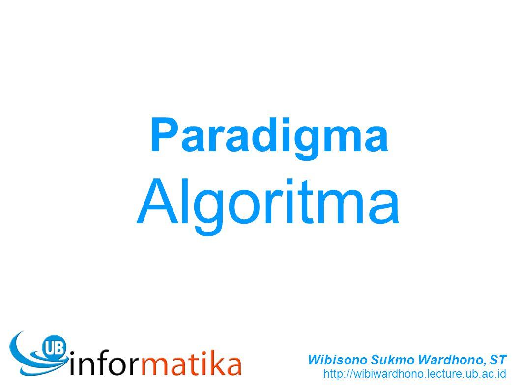 Paradigma Algoritma