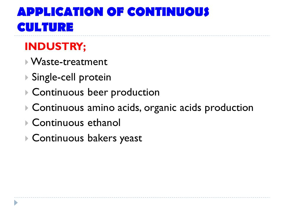 using batch and continuous cultures biology essay Hi ken, thank you for your article on brewing beer, particularly db breweries (martin coutts) continuous fermentation theory i have a question.