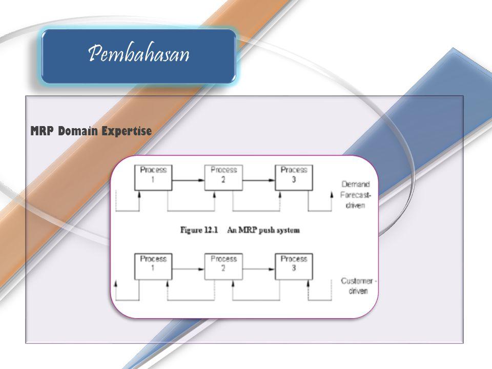 Pembahasan MRP Domain Expertise