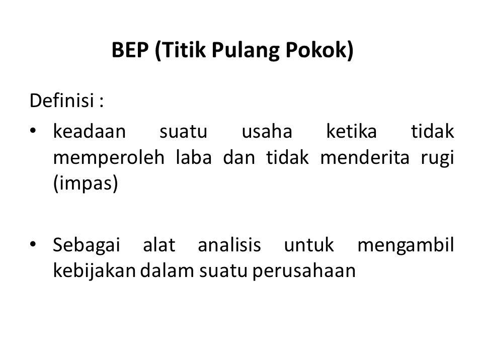 BEP (Titik Pulang Pokok)