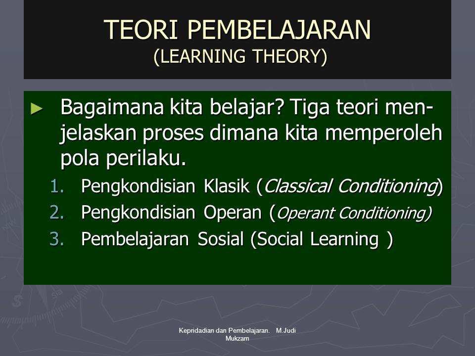 TEORI PEMBELAJARAN (LEARNING THEORY)