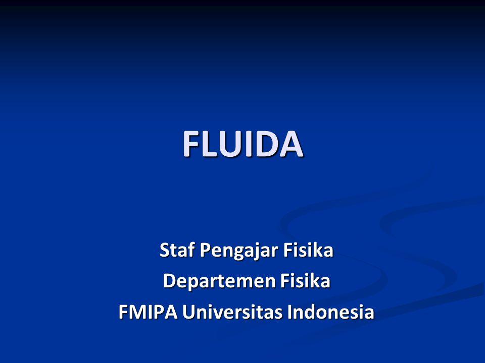Staf Pengajar Fisika Departemen Fisika FMIPA Universitas Indonesia