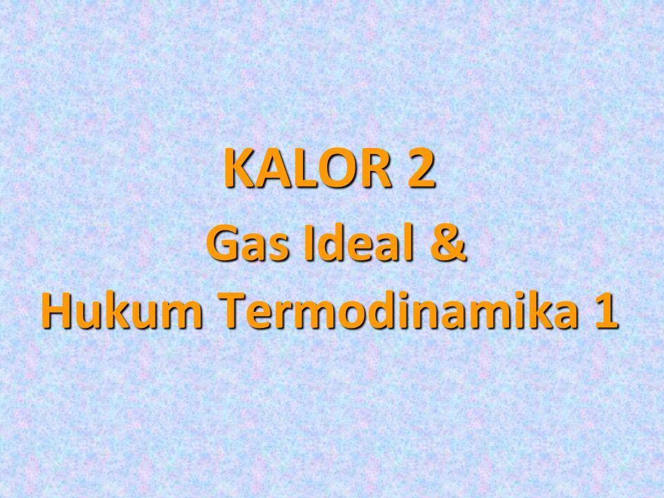 KALOR 2 Gas Ideal & Hukum Termodinamika 1