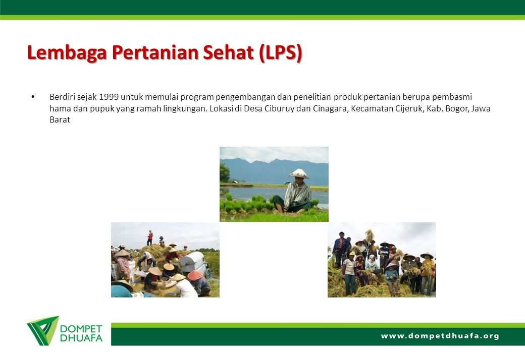 Lembaga Pertanian Sehat (LPS)