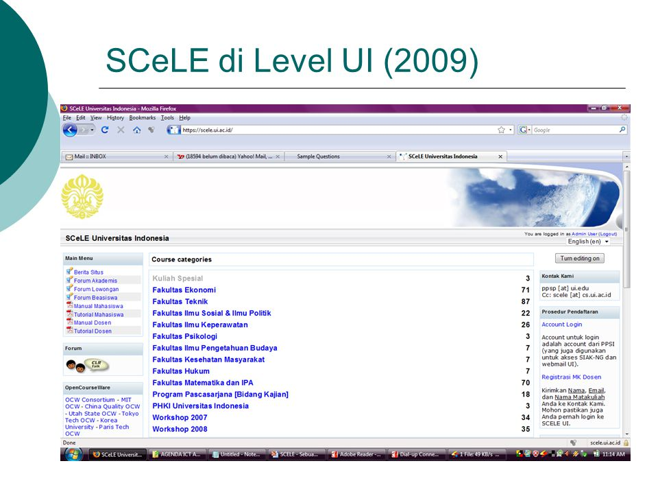 SCeLE di Level UI (2009)
