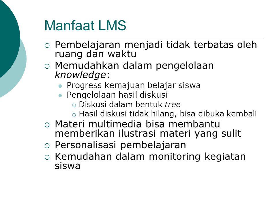 Manfaat LMS Pembelajaran menjadi tidak terbatas oleh ruang dan waktu