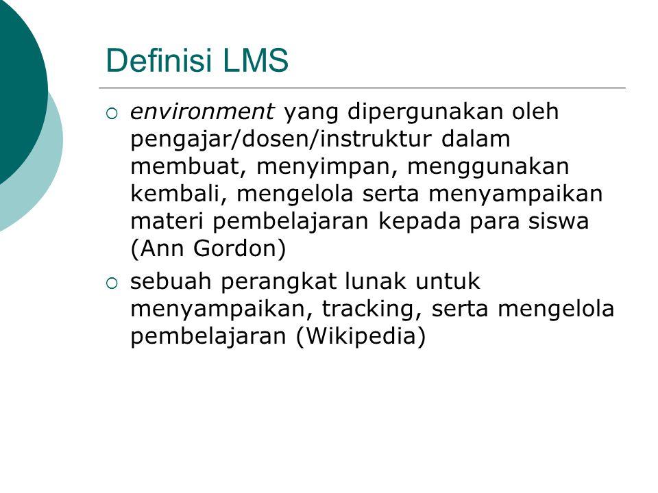 Definisi LMS