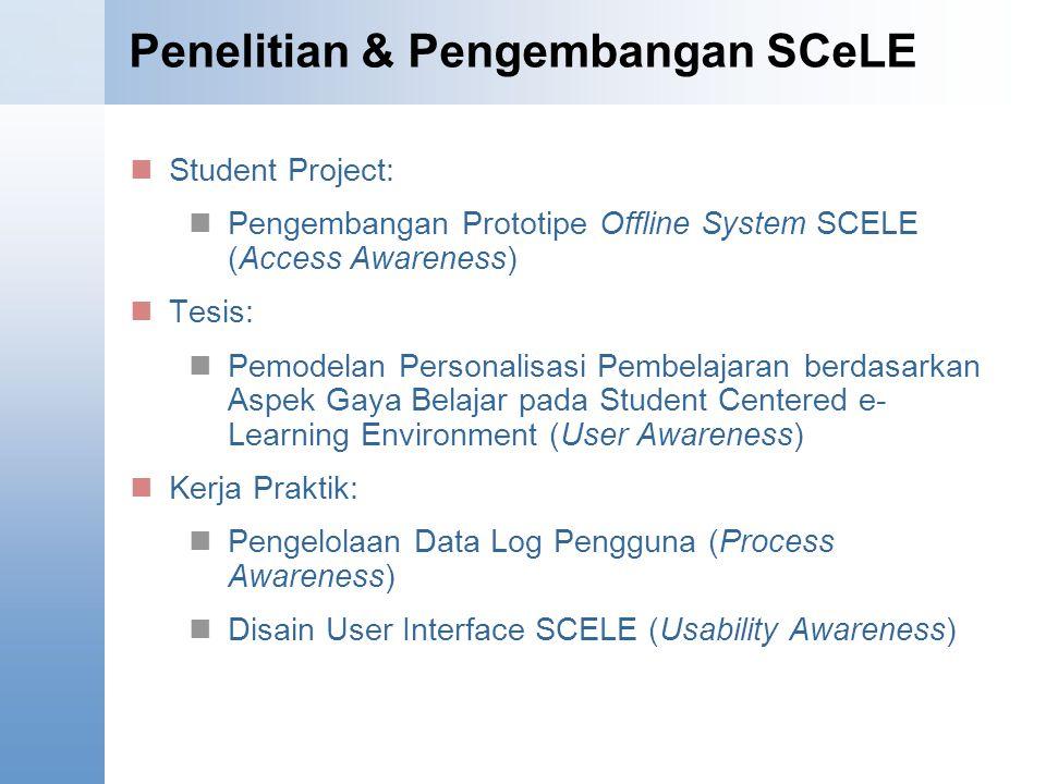 Penelitian & Pengembangan SCeLE
