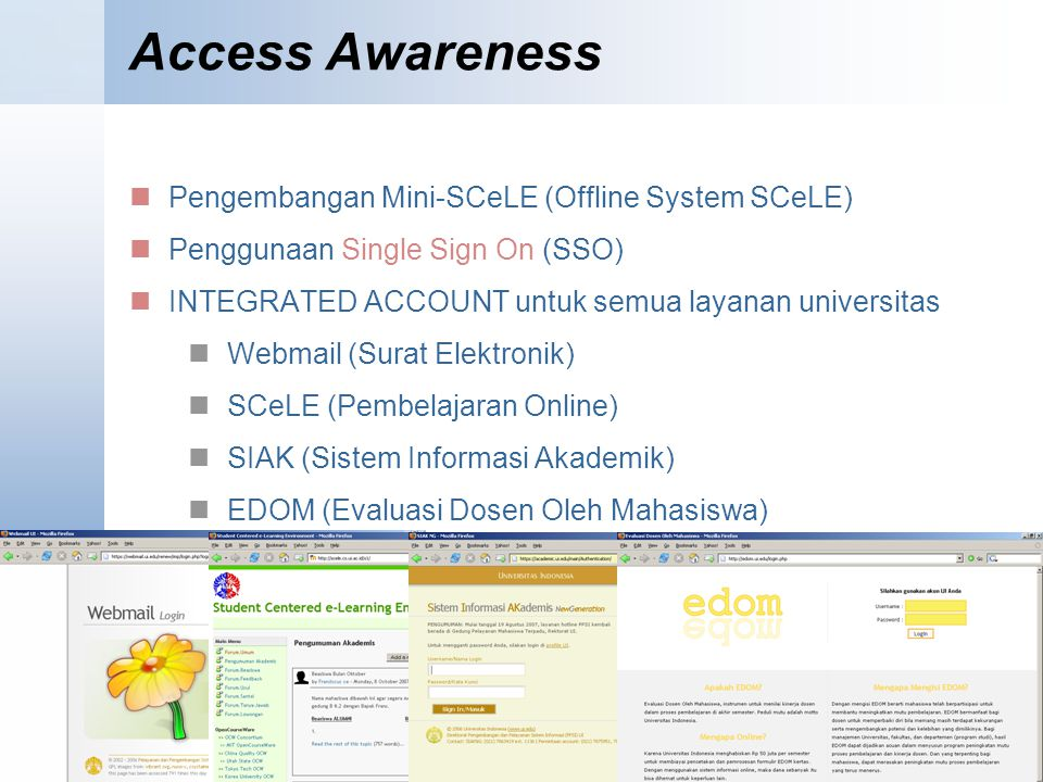 Access Awareness Pengembangan Mini-SCeLE (Offline System SCeLE)