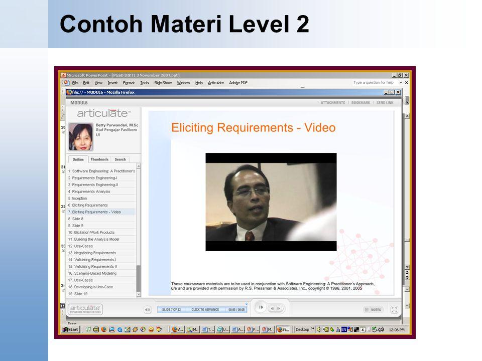 Content Starter Set Contoh Materi Level 2