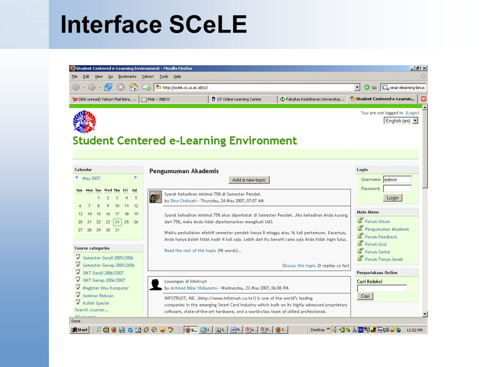 Interface SCeLE Content Starter Set