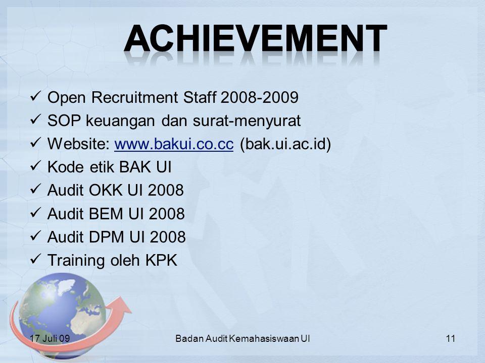Badan Audit Kemahasiswaan UI