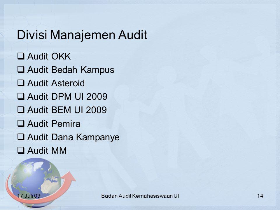 Divisi Manajemen Audit