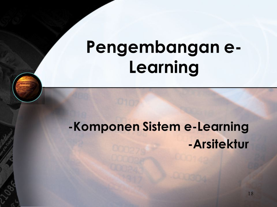 Pengembangan e-Learning