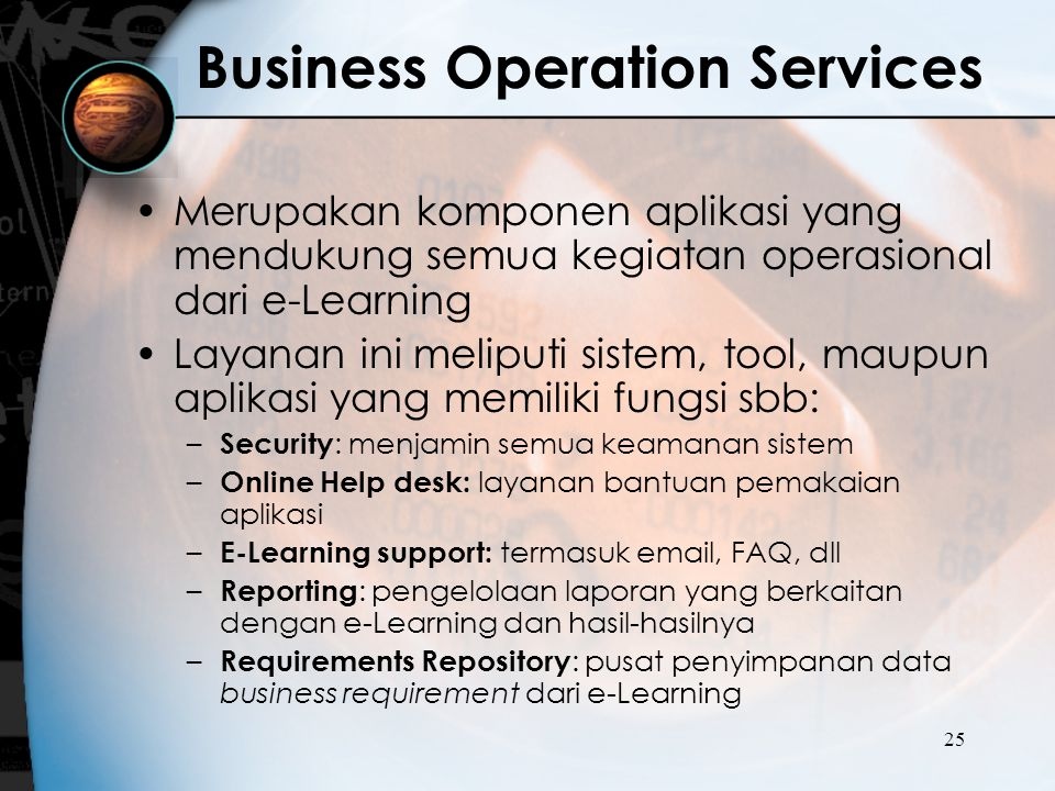 Business Operation Services