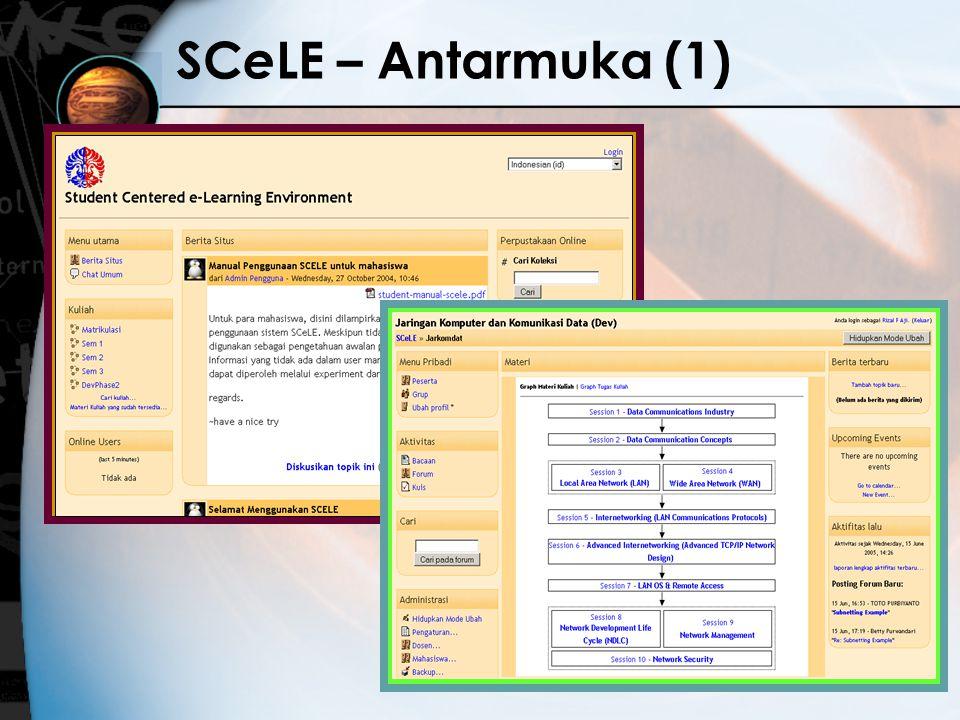SCeLE – Antarmuka (1)