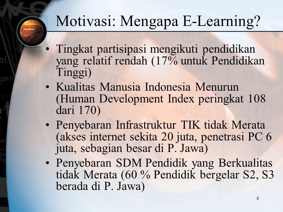 Motivasi: Mengapa E-Learning