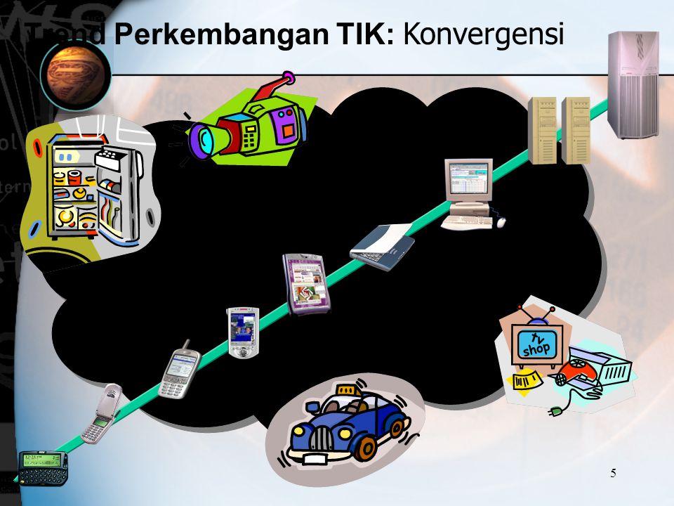 Trend Perkembangan TIK: Konvergensi