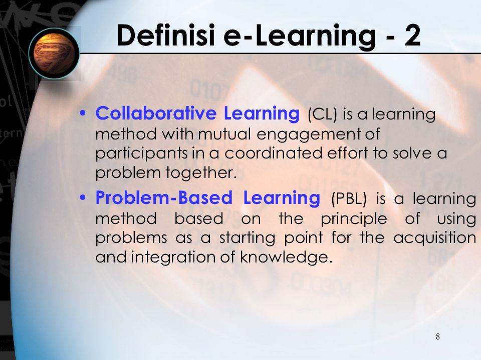 Definisi e-Learning - 2
