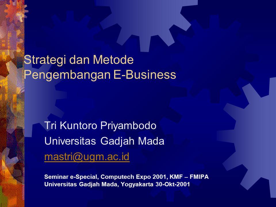 Strategi dan Metode Pengembangan E-Business