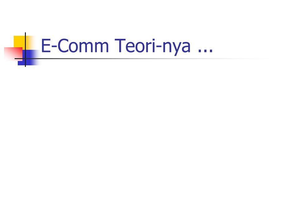 E-Comm Teori-nya ...
