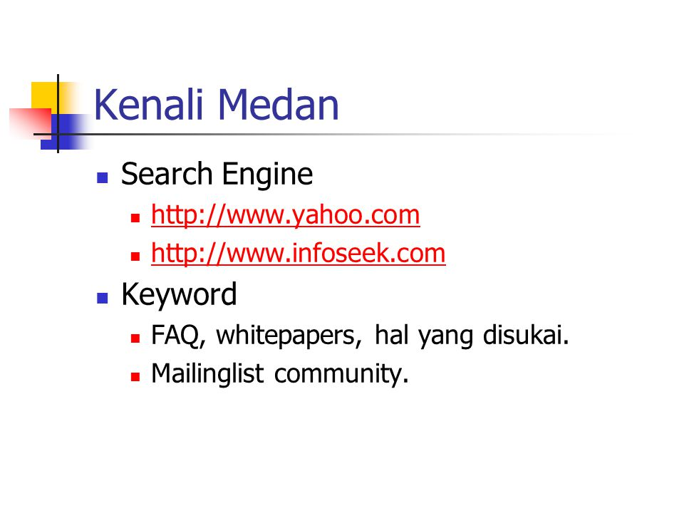 Kenali Medan Search Engine Keyword http://www.yahoo.com