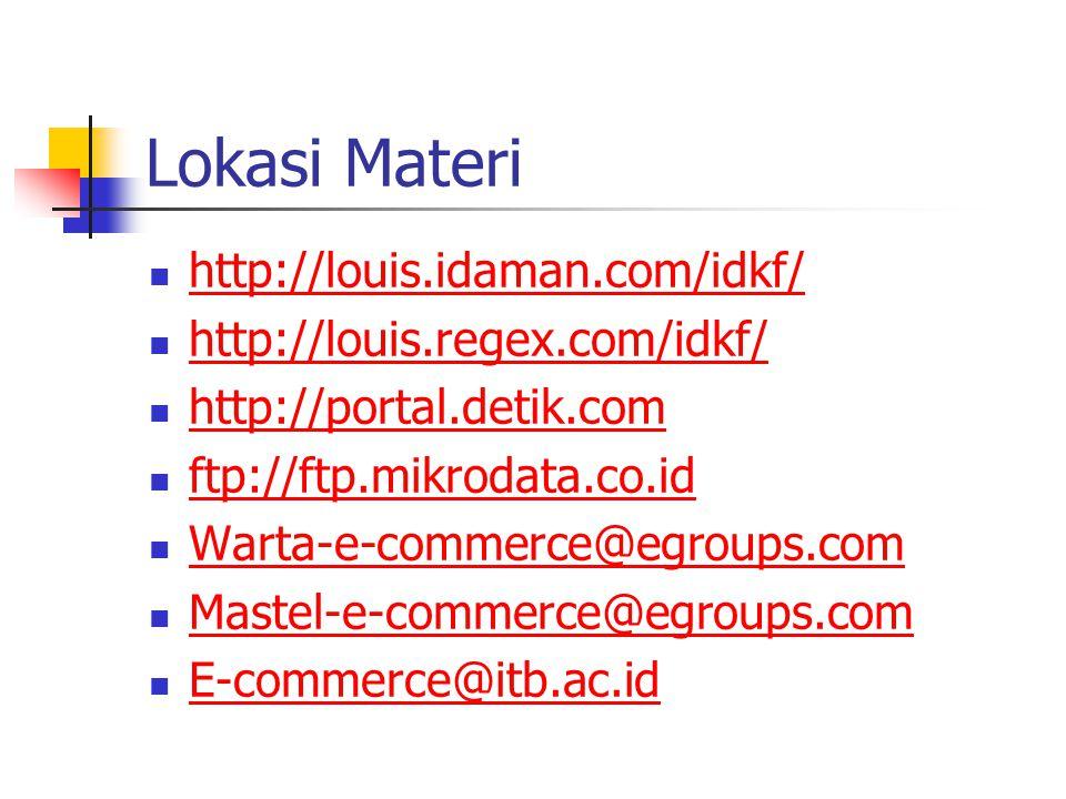 Lokasi Materi http://louis.idaman.com/idkf/