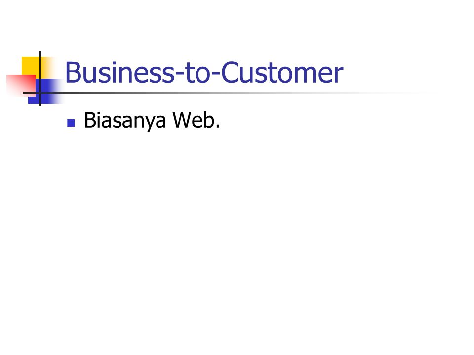 Business-to-Customer