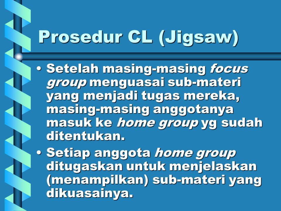 Prosedur CL (Jigsaw)