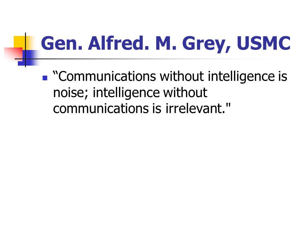 Gen. Alfred. M.