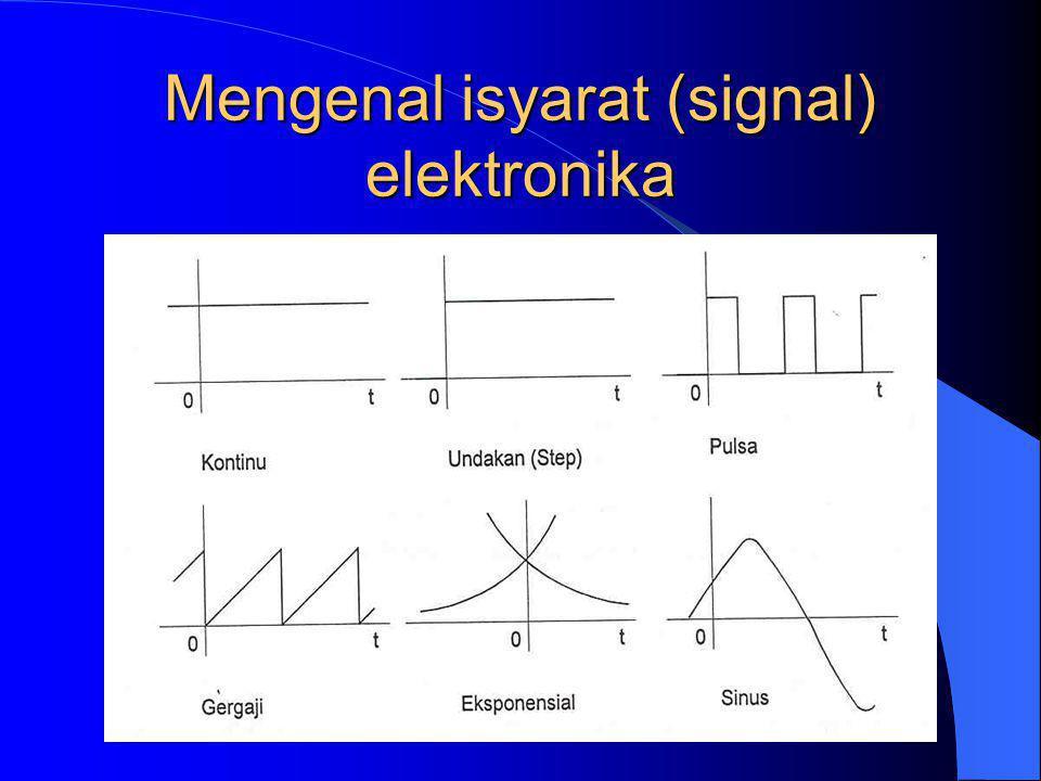 Mengenal isyarat (signal) elektronika