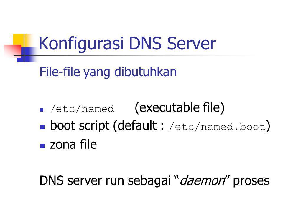 Konfigurasi DNS Server