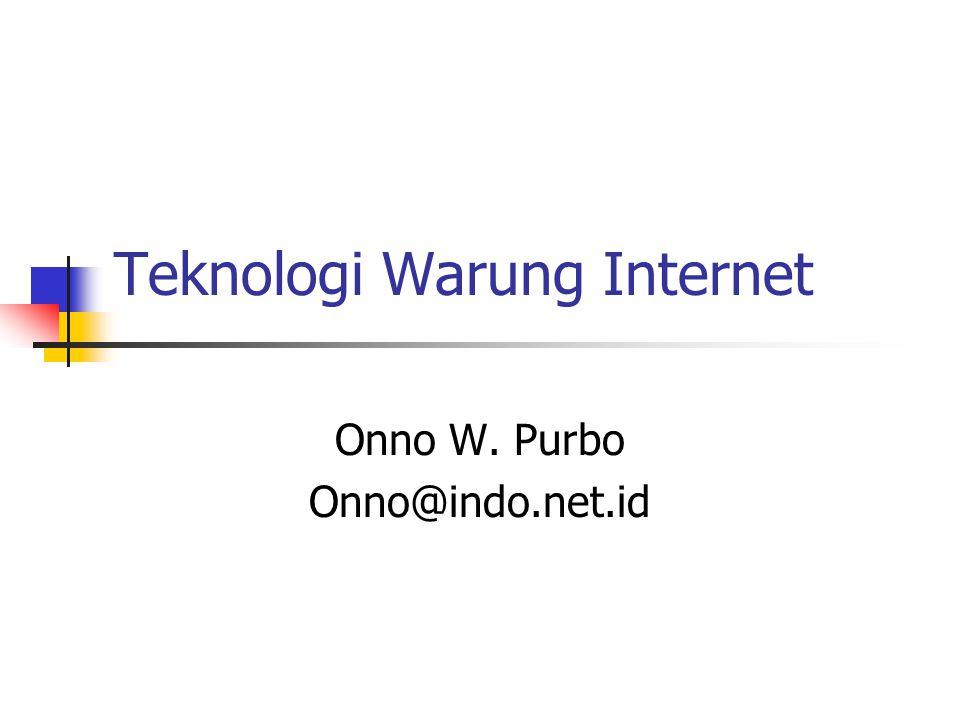 Teknologi Warung Internet