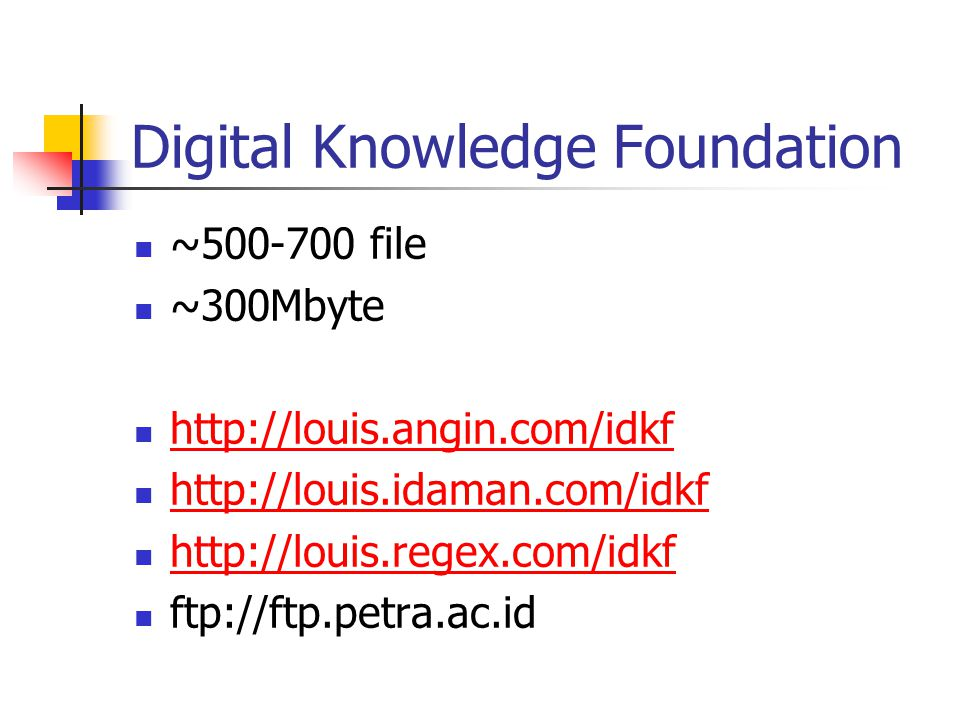 Digital Knowledge Foundation