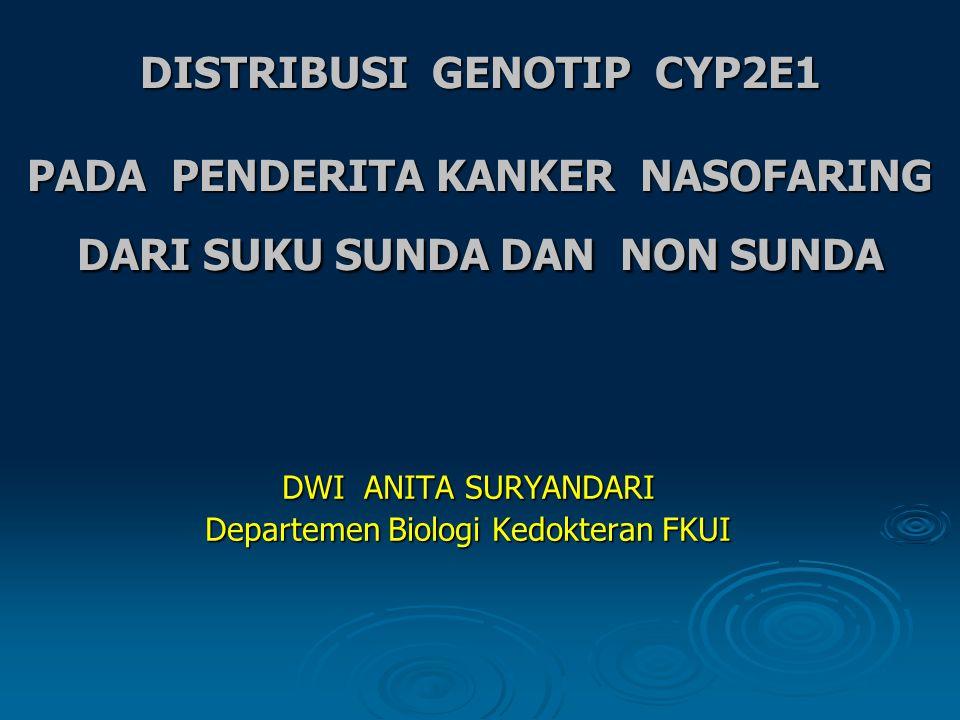 DWI ANITA SURYANDARI Departemen Biologi Kedokteran FKUI
