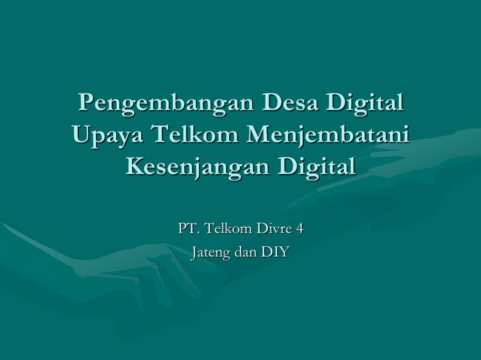 PT. Telkom Divre 4 Jateng dan DIY