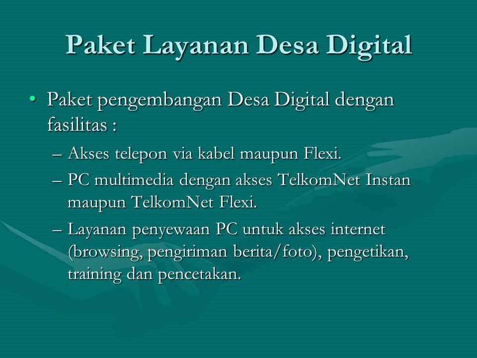 Paket Layanan Desa Digital
