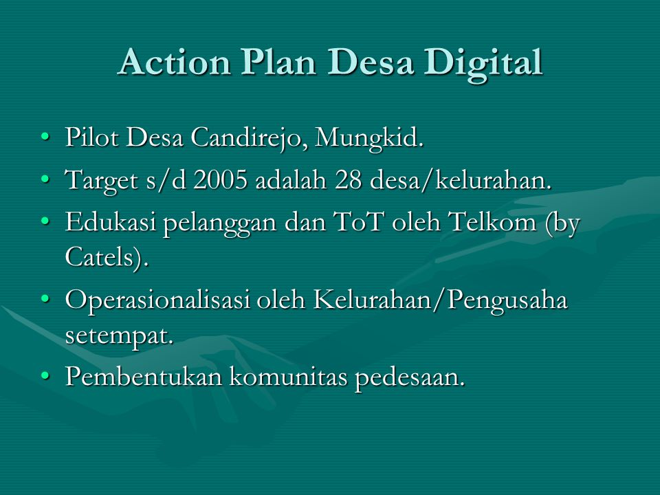 Action Plan Desa Digital