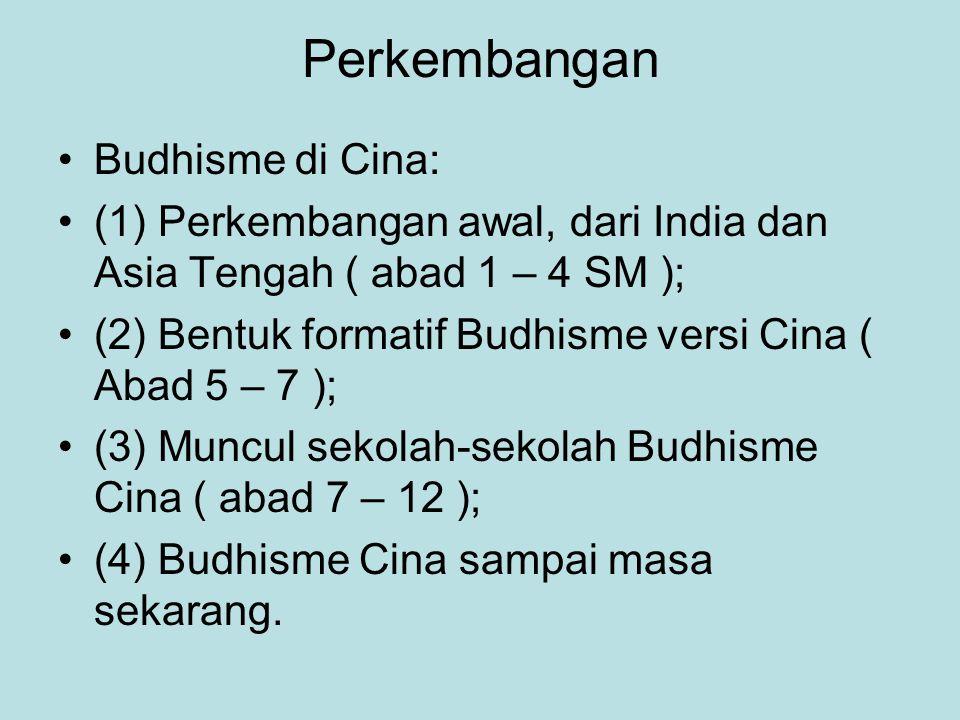 Perkembangan Budhisme di Cina: