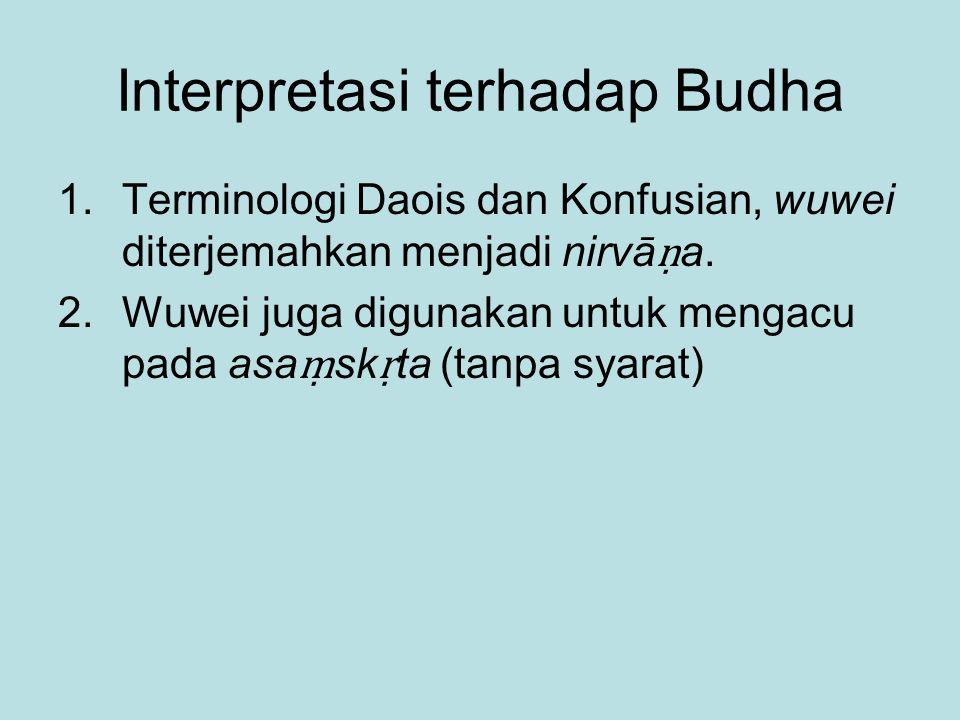 Interpretasi terhadap Budha
